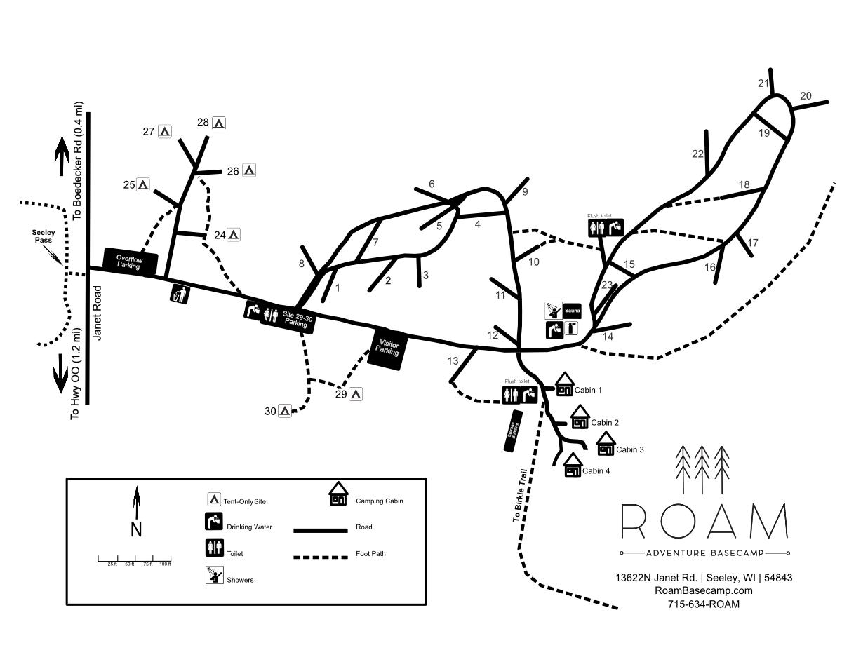 ROAM Map